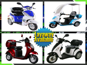 E-Bike and Mobility Scooter Layaway
