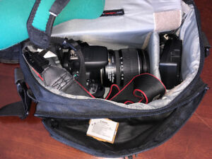 Canon EOS REbel T4i + 2 Canon Zoom Lens 15-85mm and 18-55mm