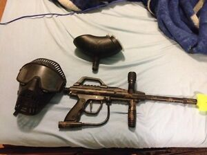 Silent auction- paintball gun and supply's