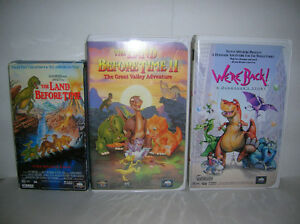 12 kids/family movies VHS