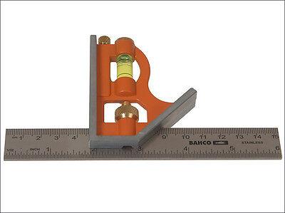 "Bahco CS150 Combination Square 150mm / 6"""