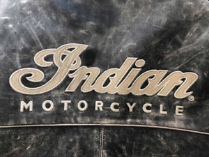 """Genuine Classic Indian """"Armored"""" Leather Motorbike Jacket"""
