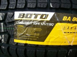 LIGHT TRUCK BOTO TIRES LT265/70T17