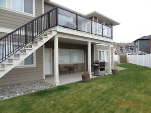 Spacious 1,100 sqft two-bedroom daylight walkout basement suite