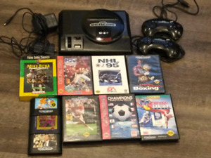 Sega Genesis and 10 games