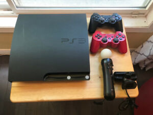 Sony PlayStation 3 + Move and Games