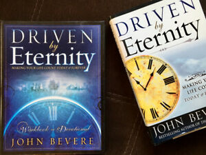 New!  Driven by Eternity hard cover book set.  $25 for set