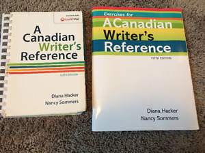 A Canadian Writer's Reference Textbook & Exercise Book