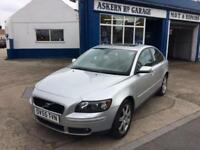 2005 Volvo S40 2.4i SE ,FULL HISTORY ,56,000 miles, FSH, white leather interior,