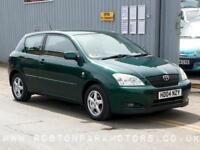 2004 TOYOTA COROLLA 1.6 VVT i T3 3dr very clean car