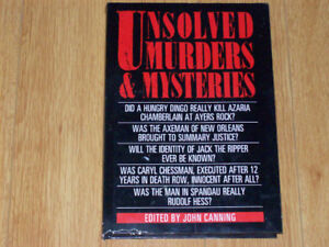"""""""Unsolved Murders & Mysteries"""" - John Canning"""