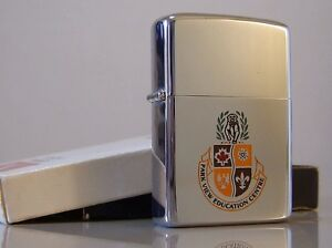 Wanted - old Park View Education Centre Zippo