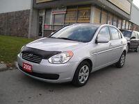 2008 Hyundai Accent 4 door Auto