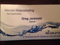 Menski Waterproofing Foundations