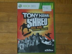 Tony Hawk Xbox 360 game