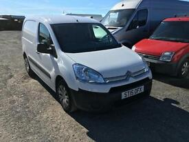 CITROEN BERLINGO 625 ENTERPRISE L1 HDI White Manual Diesel 2015 16000 miles