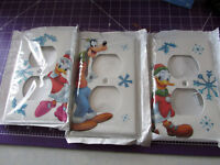 Disney Mickey Mouse Christmas 3 Outlet Covers