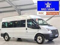 FORD TRANSIT 14 SEATER MINIBUS 135BHP T350 RWD 3.5TON LWB LOW MILEAGE 14 SEAT