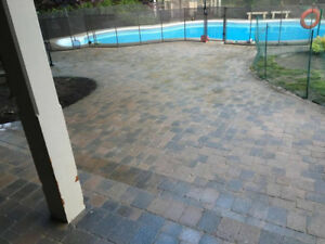 Driveway/Patio Cleaning & Sealing -Aggregate, Stamped, Interlock