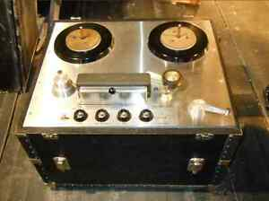 Transports Ampex 350 351 tape deck