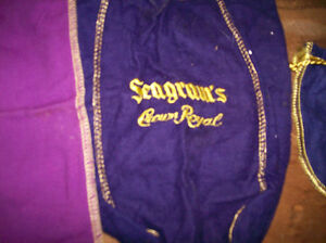3 Old Crown Royal Bags Windsor Region Ontario image 3
