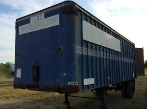 22FT STORAGE TRAILER
