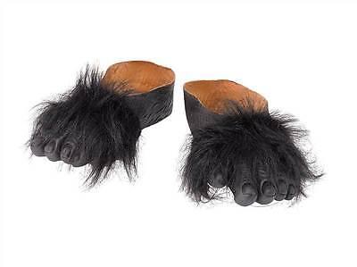 Gorilla Füße, Haarig Füße, Halloween/ Tier Kostüm - Füße Kostüme Zubehör