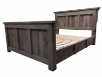 Reclaimed Wood Furniture, Beds, Headboards, Tables