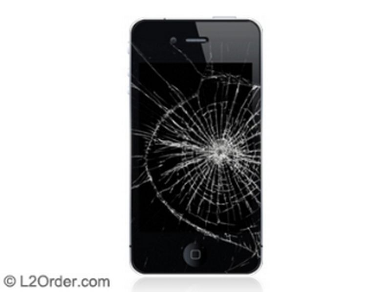 Apple Iphone 4 4s Broken Digitizer Touch Screen Glass Repair Replacement Service