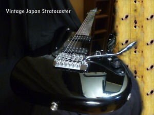 Fender Stratocaster 1985 Limited Run Rare Edition Japan