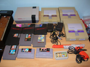Nes Super Nintendo Console & Games Sold As Is