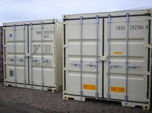 8' x 20' Storage container FOR RENT on our site