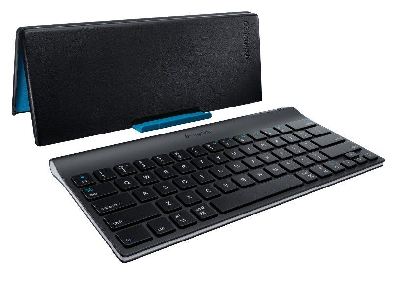 Logitech Bluetooth Tastatur Keyboard  für iPad, Tablet-PC QWERTZ Schweiz/Deutsch