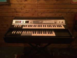 """Vintage Teisco late 60's organ """"Farfisa Style made in Japan"""""""