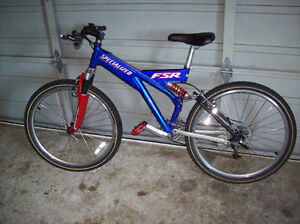 SPECIALIZED DOWN HILL FSR MANITOU 24 SPEED