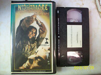 Horror VHS Tapes For Sale, List Inside, Very Rare Horror Movies!