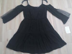 BLACK BOHEMIAN STYLE DRESS