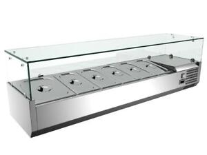59'' Refrigerated Countertop Pizza Prep Table 191032   Pans and lids not included!