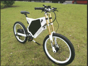 5000 watt ebike with full suspension 2019 new