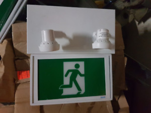 BEGHELLI RUNNING MAN EMERGENCY LIGHT