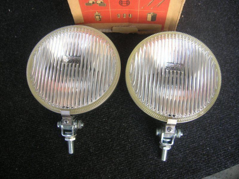BOSCH HALOGEN VINTAGE FOGLIGHT FOG LAMP LIGHT OLDTIMER  CLASSIC RALLY NOS