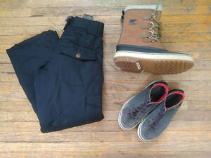Sorel Winter Boots - Firefly Ski Pants - The North Face Sneaker