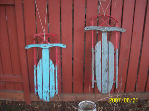 2 Antique Sleds
