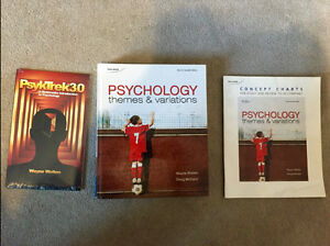 Psychology: Themes and Variations 2nd Edition Cambridge Kitchener Area image 1