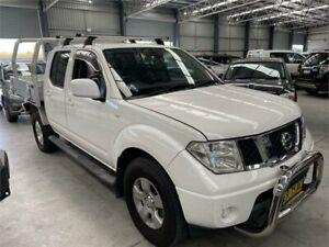 2011 Nissan Navara D40 MY11 ST White 5 Speed Automatic Utility Boolaroo Lake Macquarie Area Preview
