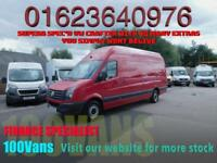 VOLKSWAGEN CRAFTER 2.0TDI 140BHP EUR 6 LWB EXTRA HIGH ROOF