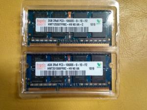 6 Go ordinateur portable SODIMM DDR3 PC10600 (1333)