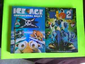 DVD 's Rio 2 - up - madagascar 1 & 2 SEALED Ice age Puss & boots Belleville Belleville Area image 3