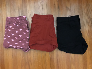 Womens Shorts - Various Sizes - H&M, Forever 21, Adidas and more