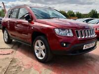 2011 61 JEEP COMPASS 2.1 CRD LIMITED 2WD 5DR 134 BHP-LOW MILEAGE-2KEYS DIESEL